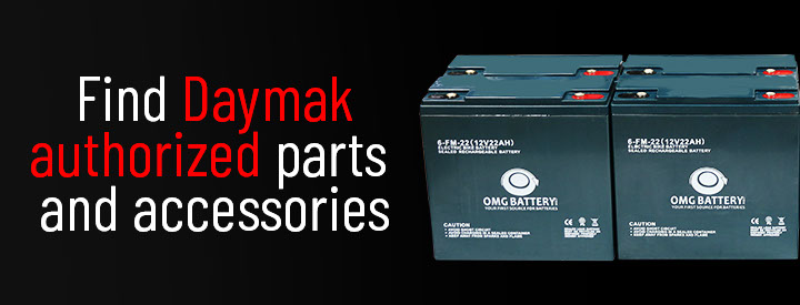Daymak Parts and Accessories