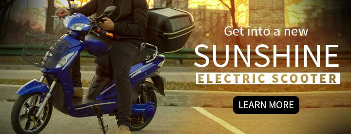Daymak Sunshine Electric Scooter